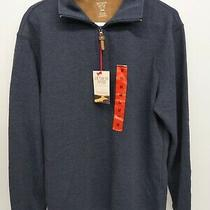 Hudson River Mens M Heritage Classics  Zip Long Sleeve Pullover Sweater Nwt Photo