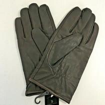 Hudson Room Gloves Men's Size Xl Genuine Leather Unlined Nwt New Photo