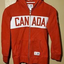 Hudson's Bay Company Canada Olympic Hoodie Sweater Girls Small 10/12 Photo