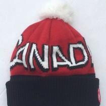 Hudson's Bay Hat Toque Classic Beanie Olympic Style Love Canada Pom Pom Photo