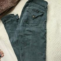 Hudson Size 28 Dark Wash Skinny Womens Back Flap Pocket Blue Denim Jeans Photo