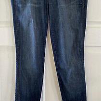 Hudson Skinny Jeans Medium Wash Sz 25 Flap Point  Pockets Photo