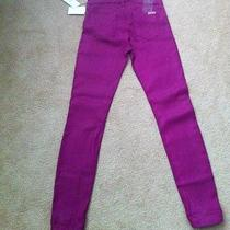 Hudson Skinny Jeans Purple Photo
