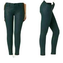 Hudson Skinny Jeans Size 25 Dark Green Photo