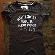 Hudson Street Ruehl New York 925 by Abercrombie & Fitch T-Shirt Girls  Size Xs Photo
