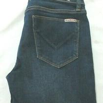 Hudson Super Skinny Ripped  Blue Women Jeans Size 27 Photo