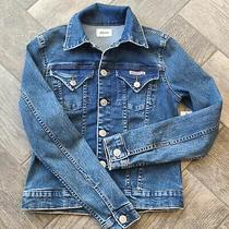 Hudson the Signature Jean Jacket Size Xs Nwt Womens Photo
