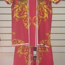 Hudson Versace Print Red Set Size M Photo