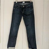 Hudson Woman's Size 28 Bacara Crop Straight Cuff Shade 2  Photo