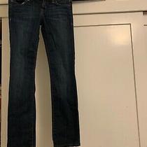 Hudson Womens Jeans Ginny Straight Size 24 - Lightly Used Dark Wash Photo