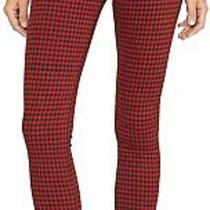 Hudson Women's Jeans Red Size 24x30 Barbara High Rise Skinny Stretch 195 254 Photo
