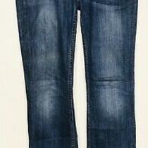 Hudson Women's Jeans Signature Boot Leg W170dhk Dark Blue Size 27 Ag26 Photo
