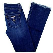 Hudson Women's Jeans Sz 26 Signature Mid Rise Boot Cut Flap Pocket Stretch Denim Photo