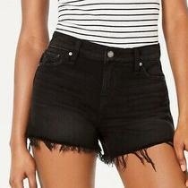 Hudson Women's Shorts Black Size 29 Mika High Rise Cut Off Denim 165 563 Photo