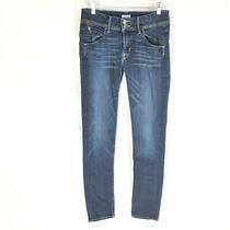 Hudson Womens Collin Flap Skinny Jeans Size 27 Stretch Denim Mid Rise   Photo