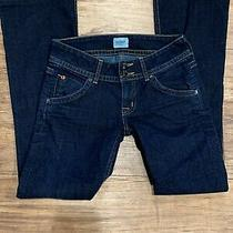 Hudson Womens Denim Blue Jeans Size 25 Boot Cut Dark Wash Flap Pocket Low Photo