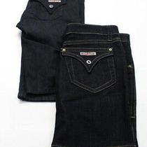 Hudson  Womens Denim Mini Skirt Dark Blue Size 30  26 Lot 2 Photo
