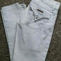 Hudson Womens Denim Signature Cropped Jeans Photo