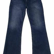 Hudson Womens Jeans Blue Size 33 Nico Bootcut Mid-Rise Stretch Denim 195 340 Photo