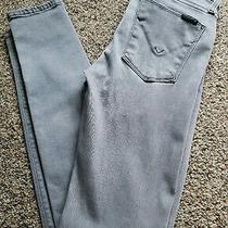 Hudson Womens Nico Midrise Super Skinny Denim Jeans Photo