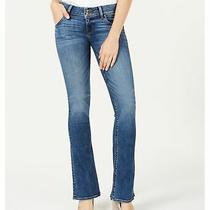 Hudson Womens Signature Boot Cut Jeans Blue 32 Photo