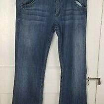 Hudson Womens Size 31 Flap Pockets Signature Bootcut Dark Wash Jeans Usa Made Photo
