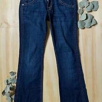 Hudson Womens Sz 26 26x30 Signature Boot Cut Jeans Stretch Scorpio Dark Wash Photo