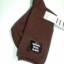 Hue a Pair of Merino Wool Blend Sock One Size New Photo