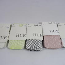 Hue Set of Five Fashion Net Tights (1) Black/white/pink/green S/m Nwt Photo