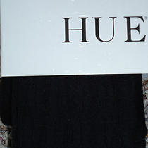 Hue Size Xs/s 12347 Black Cable Sweater Tights New Nwt Photo