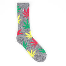 Huf X Snoop Dog Plantlife 4-20 Socks in Black Heather Photo