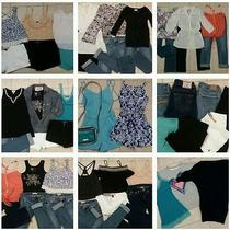 Huge 26pc Womens/juniors Brand Name Coordinating Outfits Mixed Clothing Lot Xs Photo