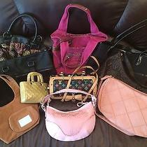 Huge Lot 10 Miscellaneous Collection of Purses-Coldwater Creek -Fossil & Others Photo