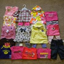 Huge Lot Baby Girl Clothes 3-6 Months Gap Gymboree Crazy 8 All Nwt Spring Photo