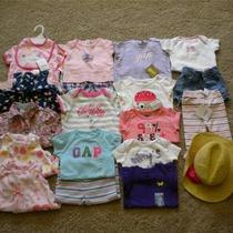 Huge Lot Baby Girl Summer Clothes 3-6 Months Gymboree Crazy 8 Gap Nwt Rv 320 Photo