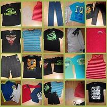 Huge Lot Boys 14 Shorts Jeans Tops Items Are Mostly New Lots of Aeropostale  Photo