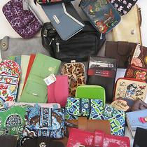 Huge Lot Designer Accessories Wallets Wristlets Coach Brighton Vera Bradley Sakr Photo