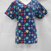 Huge Lot of 15 Medical Dental Nurse Vet Scrub Tops No Size Dickies and Others Photo