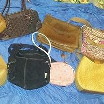 Huge Lot of Handbags Coach Dooney & Bourke Fossil Photo