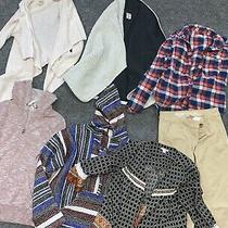 Huge Lot of Junior Mixed Womens Clothes-Size Xs Jackets Flannel Khakis Photo