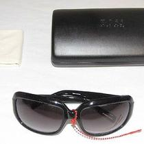 Hugo Boss  0025/s 0807lf Black Designer Sunglasses - 100% Authentic W/ Hard Case Photo
