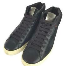 Hugo Boss  40 50305660 Size 40 Black High Cut Sneaker 207 From Japan Photo