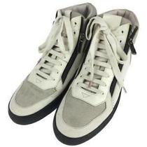 Hugo Boss  40 50321297 Size 40 White High Cut Sneaker 208 From Japan Photo