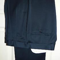 Hugo Boss (Al Capone/catania) Classic/retro Work/dress Suit Trousers W34/30 Photo