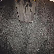 Hugo Boss Black 595 40r Suit Black 2btn Black Label Photo