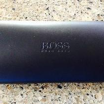 Hugo Boss Black Hinged Glasses Case (Size Approx 6 X 1  X 3) Photo