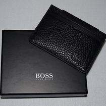 Hugo Boss / Boss Black / Bradenton / Leather Id & Card Case Wallet in Gift Box Photo