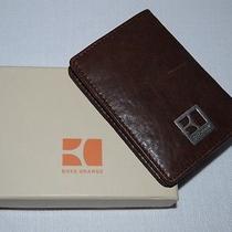 Hugo Boss / Boss Orange / Scobi / Leather Id & Card Case Wallet in Gift Box Photo