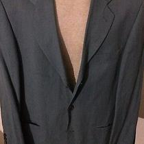 Hugo Boss Easy Line Austin Reed Regency Green Linen Sport Coat Blazer Jacket 40 Photo
