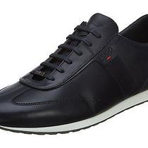 Hugo Boss Irvins Mens 50291640-401 Dark Blue Athletic Shoes Sneakers Size 10 Photo